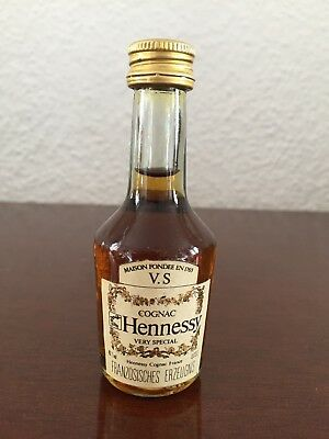 Hennessy V.S. Cognac Miniature, Mini Bottle, Mignon