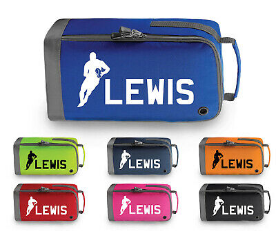 Personalised Childrens Rugby Boot Bag Kids Boys Girls Sport Pe Kit Gym Gift