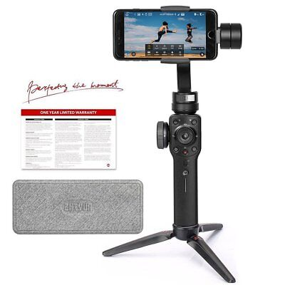 Zhiyun Smooth 4, 3-Axis Gimbal Stabilizer in Black for Smartphone Up to 7.4 oz