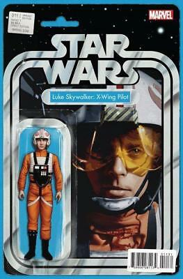 Star Wars #11 Luke Skywalker: X-Wing Pilot Action Figure Variant