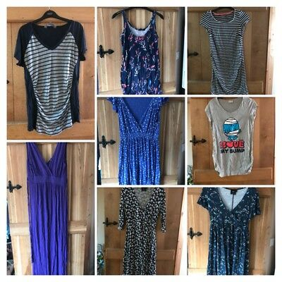 Maternity Bundle 10-12 Tops Dresses Asos Mamalicious New Look H&M Mama Clothes