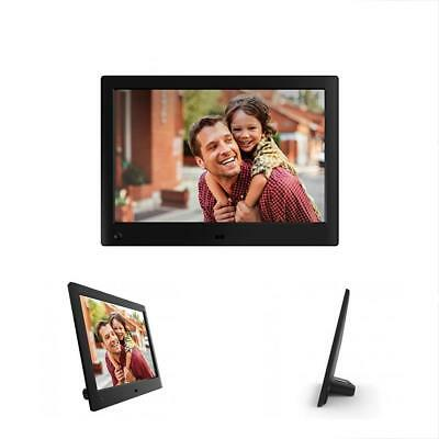 Advance Digital Picture Frames 10 Inch Widescreen Photo HD Video (720p) Frame,