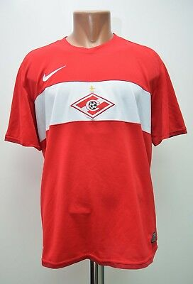 Spartak Moscow Russia 2009/2010 Home Football Shirt Jersey Maglia Nike L Adult