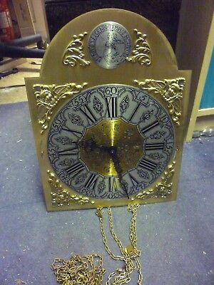 Modern Kieninger Grandfather Clock Weight Driven Chimeing Movement+Dial