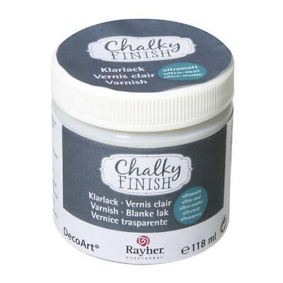 Chalky Finish Klarlack Dose 118ml, Ultramatt, Seidenmatt oder Soft-Touch