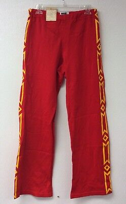 Vintage Made In Usa 70s/80s Pants Retro Basketball Wrestling Nwt Adult 32 Warmup