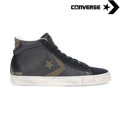 converse pro leather vulc distressed