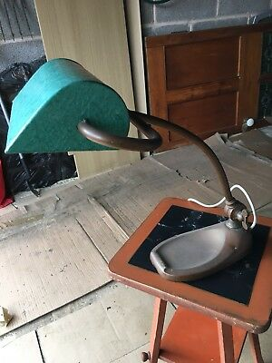 Early 20c Copper Desk Lamp