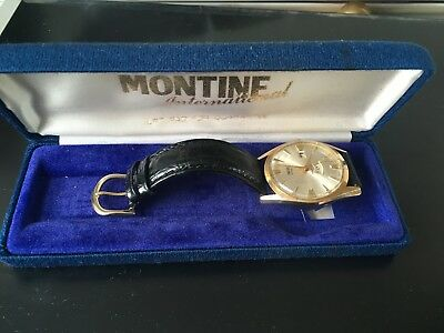 Very rare Vintage Smiths day Date Mechanical watch   In associated box