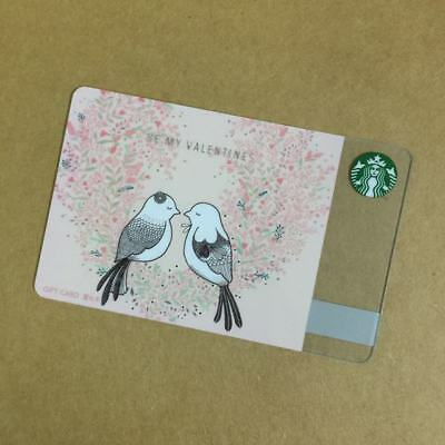 2017 Starbucks China Special Edition Be My Valentines Gift Card Pin intact