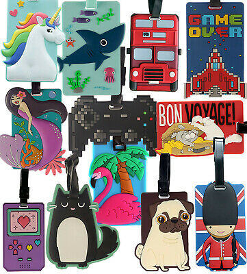 Womens Luggage Travel Accessories Girls Large Tags Plastic Suitcase Name Flight