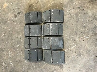 """7""""x15"""" Relined Wedge Brake Shoes"""