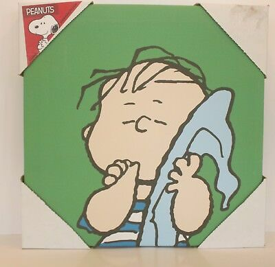 Peanuts Canvas Wall Art Artissimo Linus - Charlie Brown 10x10 NEW
