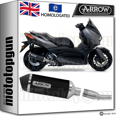 Arrow Full Silencer Urban Black Kat Yamaha Xmax X-Max 300 2017 17 2018 18