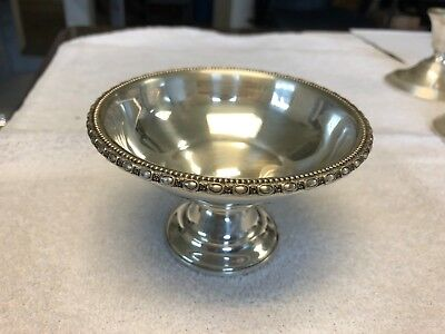 la pierre sterling weighted reinforced 146 candy dish