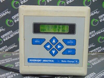USED Rosemount 1055-01-10-20 Solu Comp II Conductivity Meter