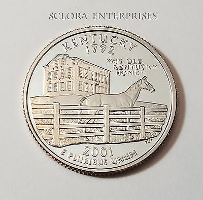 2001 S Kentucky *proof* State Quarter   **free Shipping**