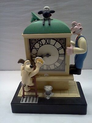 Wallace And Gromit Alarm Clock 1998 Wesco