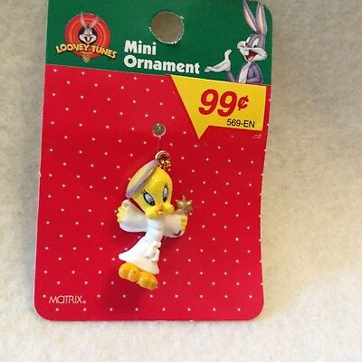 Looney Tune Mini- Ornament By Matrix Tweety Bird