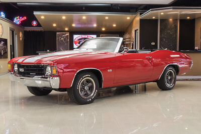 Chevrolet Chevelle Convertible Convertible! GM 454ci V8, Muncie 4-Speed Manual, PS, PB, Disc, Cowl Induction!