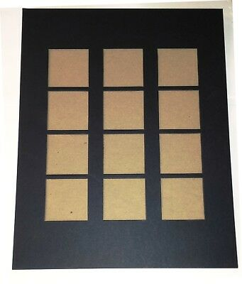 """Savage Transo (Pre-Vue) Mat 11x14 12-2 1/8 X 2 1/8"""" openings BX/100"""