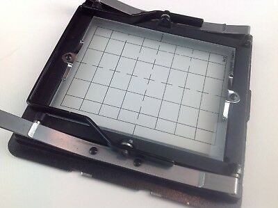 Cambo Ground Glass Back 4x5 with grid