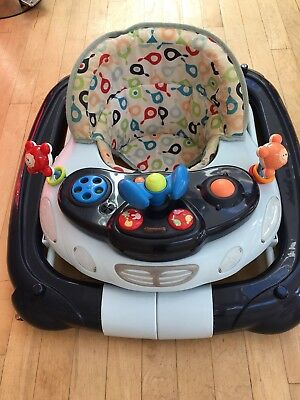 My Child Baby Walker With Musical Toy Blue