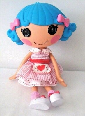 Lalaloopsy Rosy Ps And Bruises Doll Candy Striper Blue Hair