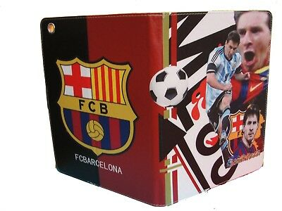 Ipad 2 / 3 / 4 Case Cover  Football Futbal Barcelona Lionel Mess Magnetic