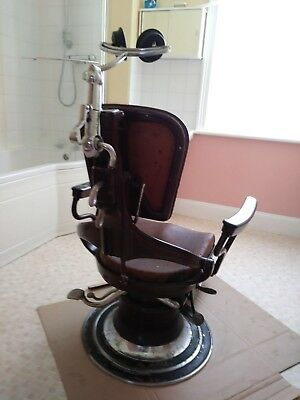 Ritter Dentist Chair circa 1928, would look great in a bar or tattoo studio