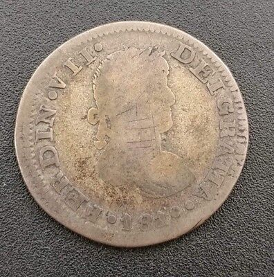 Mexico Zacatecas 2 Reales 1819 War Of Independence In VG