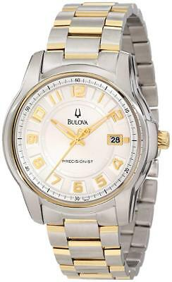 Bulova Men's  Precisionist Claremont Two-Tone Bracelet Watch 98B140