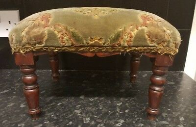 Small Victorian Footstool