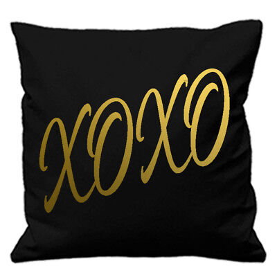 Xoxo Cushion Cover Hugs And Kisses Quote Texting Love Sms Girlfriend Boyfriend
