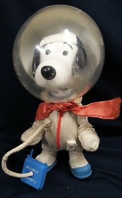 Snoopy Astronaut Vintage 1969 Pocket Doll Determined Productions Peanuts Comic