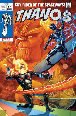 Thanos 17 Silver Surfer 4 Homage Variant Cosmic Ghost Rider 2018 & 15, 16 2nd p