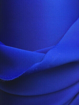7a92d36b1f3 ROYAL BLUE Neoprene Scuba Knit Fabric Polyester Spandex (60 in.) Sold BTY