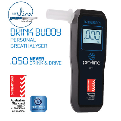 Proline Drink Buddy BT-01 Breathalyser - Home Brew / All Grain / Beer / Brewing