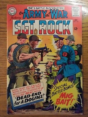 Our Army at War #161 (Dec 1965, DC) High Grade