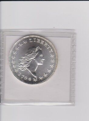 "Gallery Mint 1794 HALF DOLLAR GEM BU MARKED ""COPY"" REPRODUCTION REPRO"