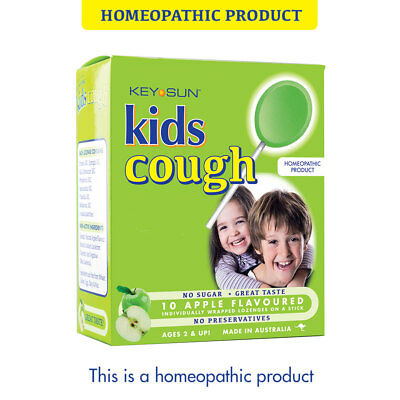 Kids Cough Apple - Homeopathic Lozenges
