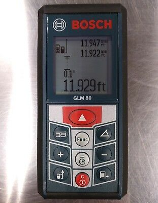 Bosch GLM 80 Professional Laser Measuring Tool 265-Feet Lithium-Ion IP54 Cert