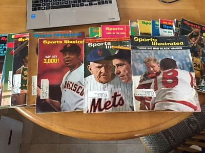 Lot of 23 Sports Illustrated from 1964-1973 Nice lot