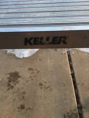 Keller aluminum bench, used, very good condition, good opportunity local pick up