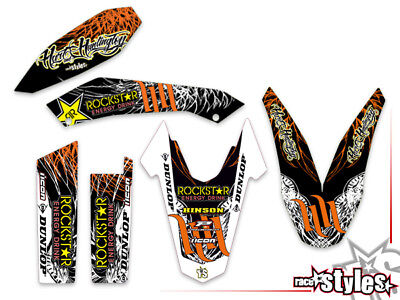 KTM 690 SMC / R ENDURO (08-17) | Huntington DEKOR DECALS KIT grafiche graphique