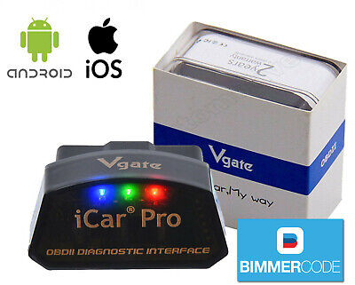 Vgate iCar Pro BLE 4.0 OBD2 Diagnostic Tool Car Fault Code Reader Android/iPhone