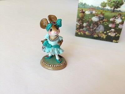 Wee Forest Folk M-328 - FLAPPER FRANNY >>Factory Tour SPECIAL<< - MINT in Box