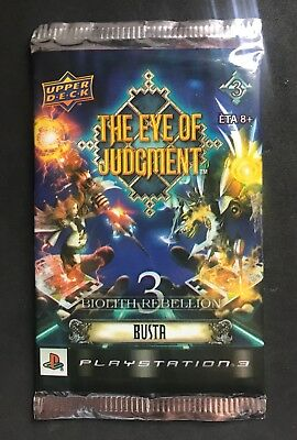 The eye of judgment game card busta 8 carte serie 3