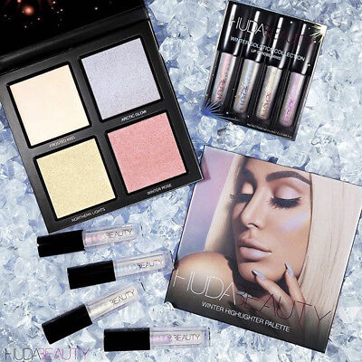 Winter Solstice Mini Lip Strobe Collection And Winter Solstice Highlight Palette