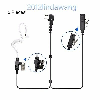 Palm Mic with Earpiece Earphone for ICOM IC-F3000 F3001 F3002 F3003 F3011 Radio